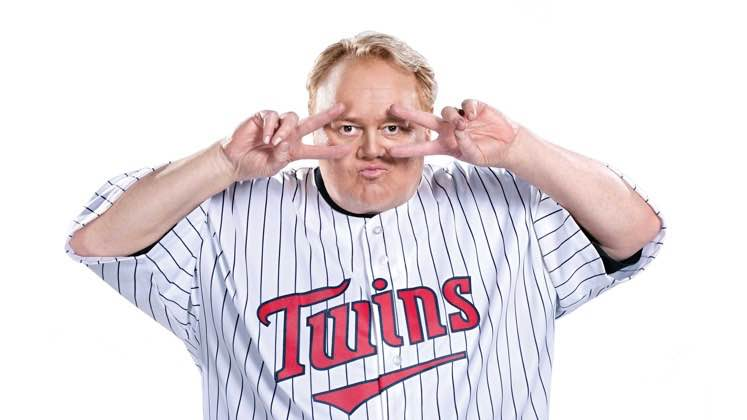 Large image of stand-Up comic Louie Anderson
