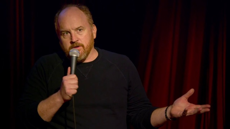 Large image of stand-Up comic Louis C.K.