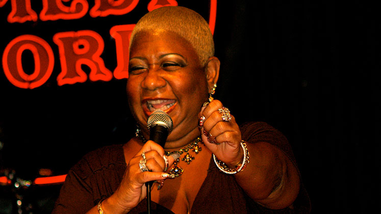 Large image of stand-Up comic Luenell