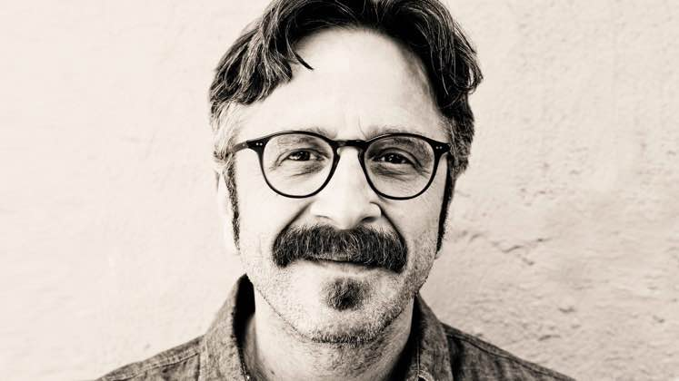 Large image of stand-Up comic Marc Maron