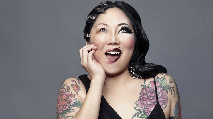 Large image of stand-Up comic Margaret Cho