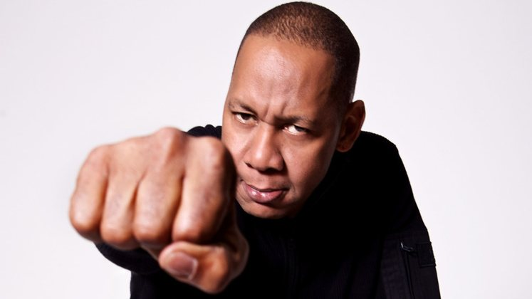 Large image of stand-Up comic Mark Curry