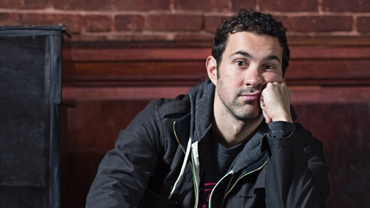 Large image of stand-Up comic Mark Normand