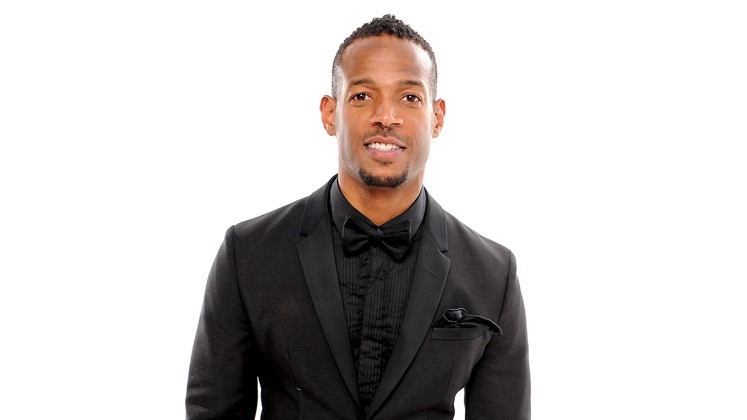 Large image of stand-Up comic Marlon Wayans