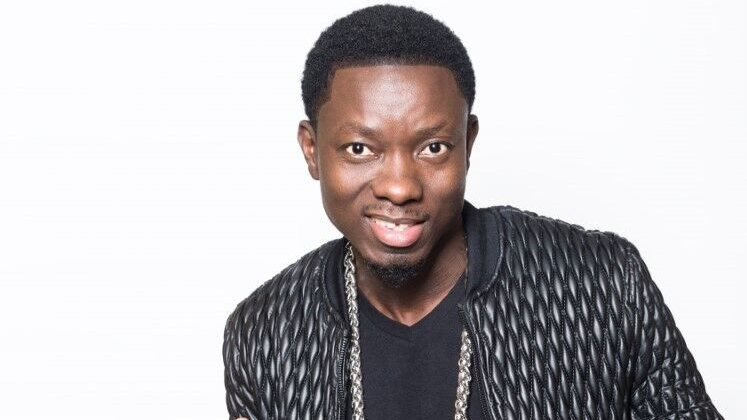 Large image of stand-Up comic Michael Blackson