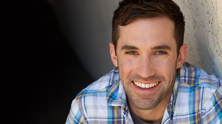 Large image of stand-Up comic Michael Palascak