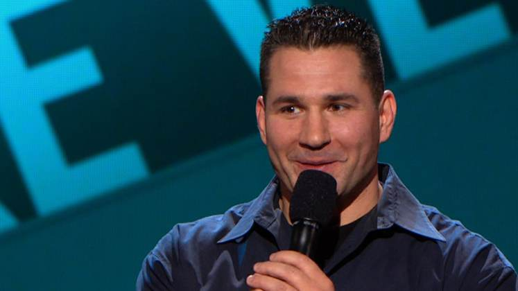 Large image of stand-Up comic Mike Vecchione