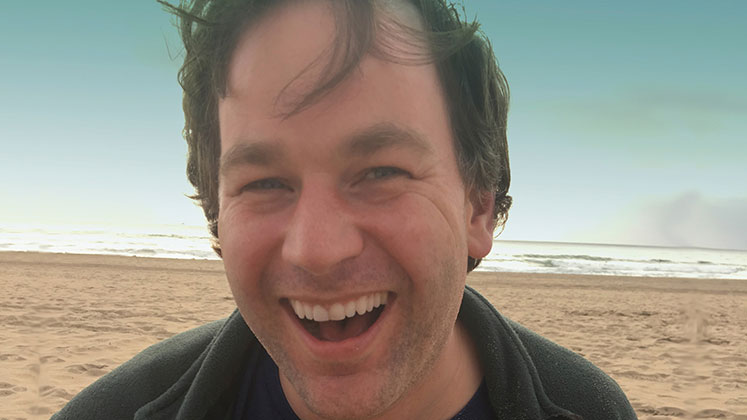 Large image of stand-Up comic Mike Birbiglia