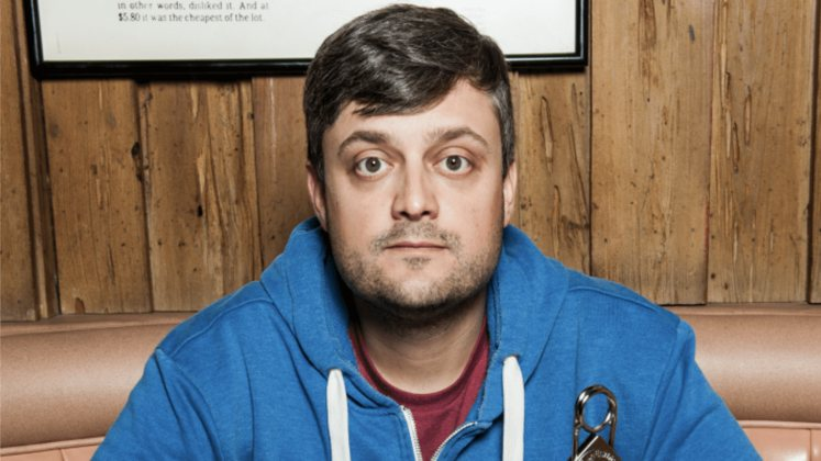 Large image of stand-Up comic Nate Bargatze