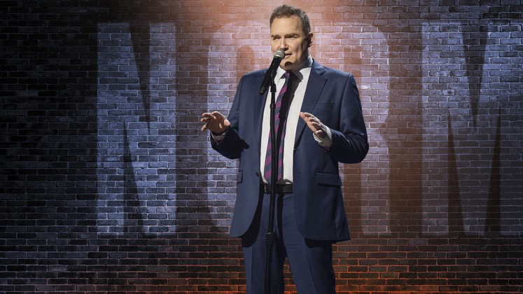 Large image of stand-Up comic Norm Macdonald