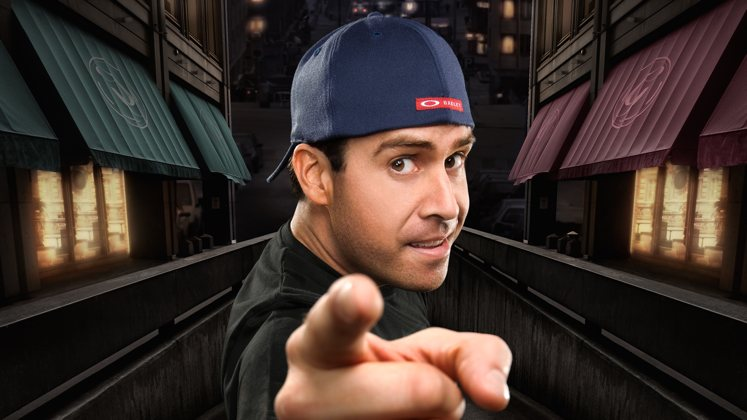 Large image of stand-Up comic Pablo Francisco