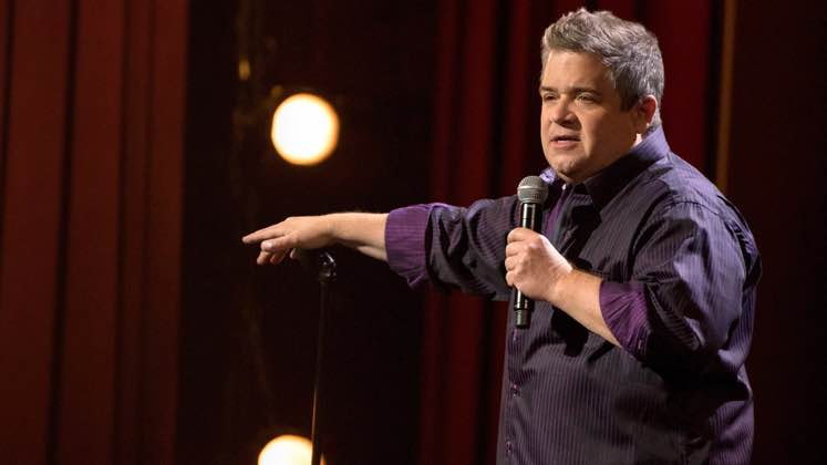 Large image of stand-Up comic Patton Oswalt