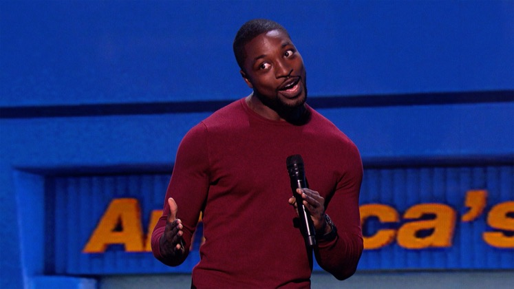 Large image of stand-Up comic Preacher Lawson