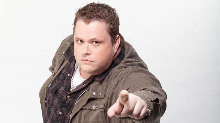 Large image of stand-Up comic Ralphie May