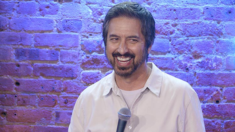 Large image of stand-Up comic Ray Romano