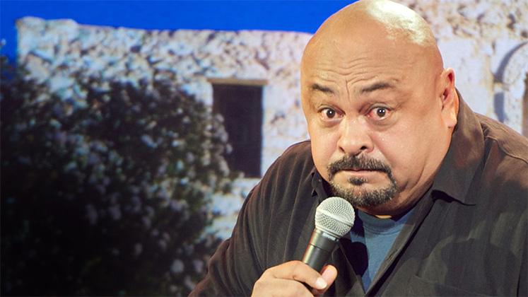 Large image of stand-Up comic Rick Gutierrez