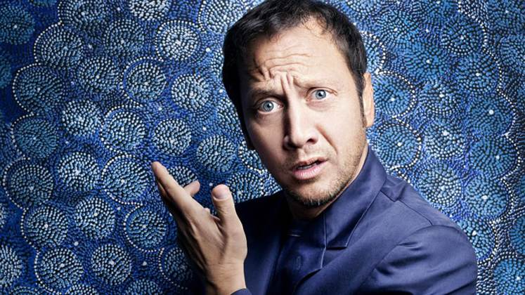 Large image of stand-Up comic Rob Schneider