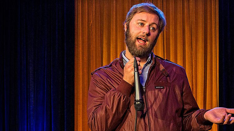Large image of stand-Up comic Rory Scovel