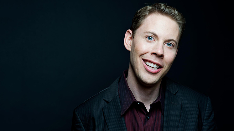 Large image of stand-Up comic Ryan Hamilton