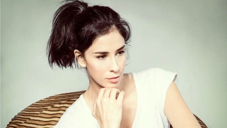 Large image of stand-Up comic Sarah Silverman