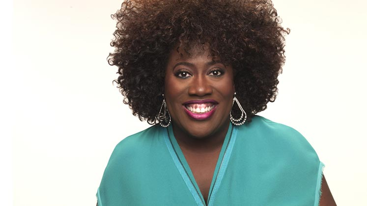 Large image of stand-Up comic Sheryl Underwood