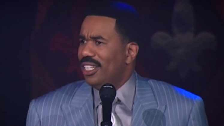 Large image of stand-Up comic Steve Harvey