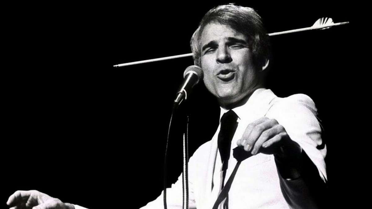 Large image of stand-Up comic Steve Martin