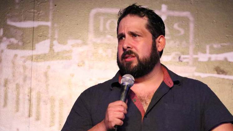 Large image of stand-Up comic Steve Trevino