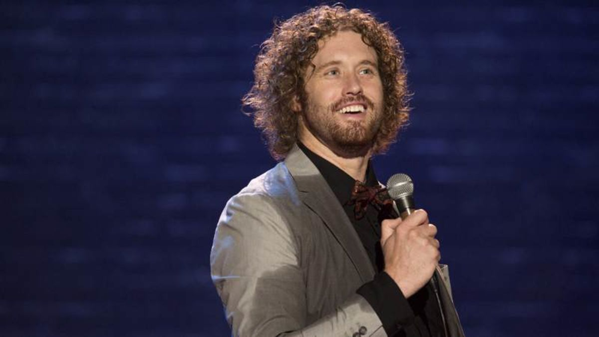 Large image of stand-Up comic T.J. Miller