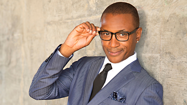 Large image of stand-Up comic Tommy Davidson