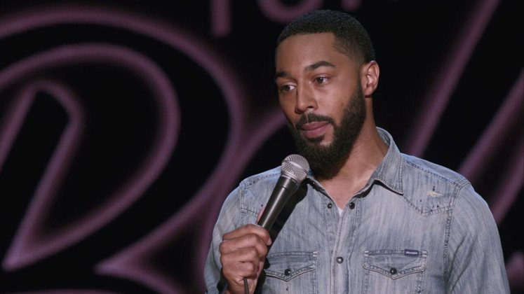 Large image of stand-Up comic Tone Bell