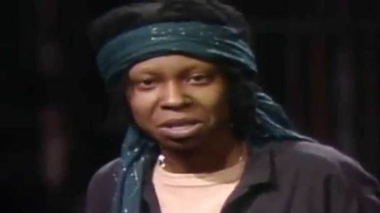 Large image of stand-Up comic Whoopi Goldberg