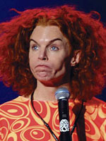 Stand-Up Comedian Carrot Top