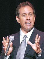 Stand-Up Comedian Jerry Seinfeld